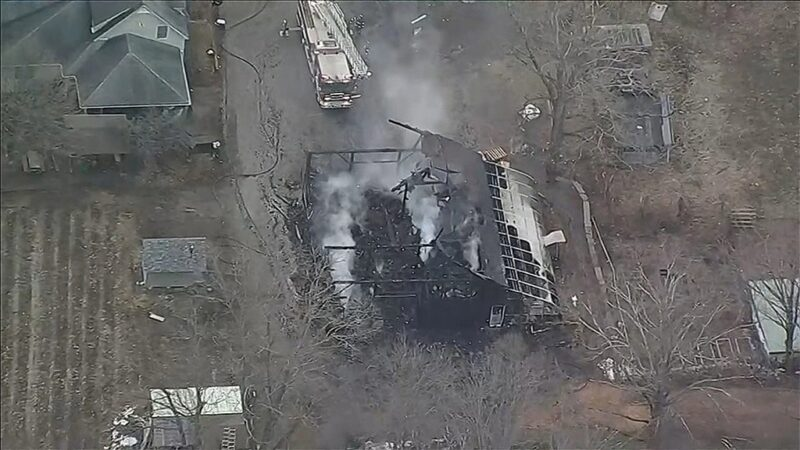 'Hero' Farm Dog Sounded Alarm On Fire At Historic Natick Barn