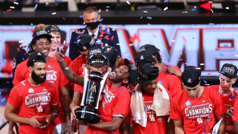 No. 7 Houston takes AAC tourney with 91-54 win over Cincy